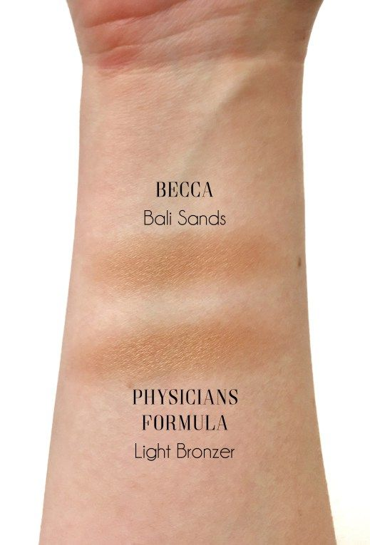 Find a dupe for Becca's Bali Sands bronzer with Physicians Formula Butter Bronzer!