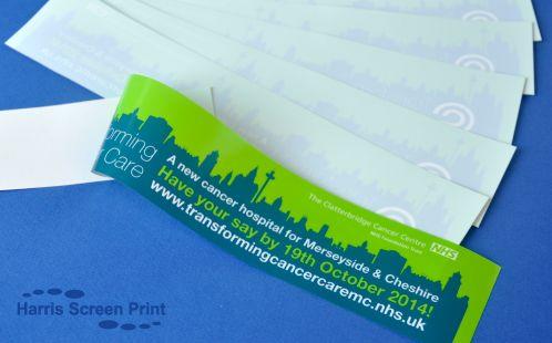 NHS car window stickers printed