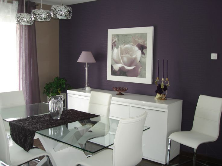 17 Best Ideas About Purple Dining Rooms On Pinterest