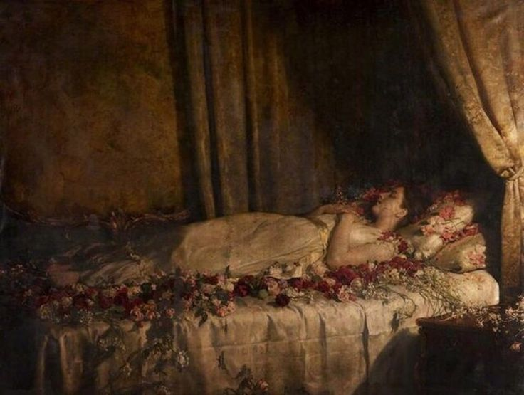 John Collier - Death of Albine, 1895