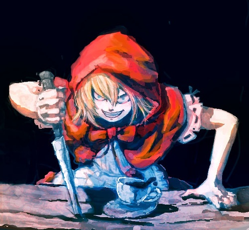 Baby Bonnie Hood, from Darkstalkers ~ Vampire Savior.