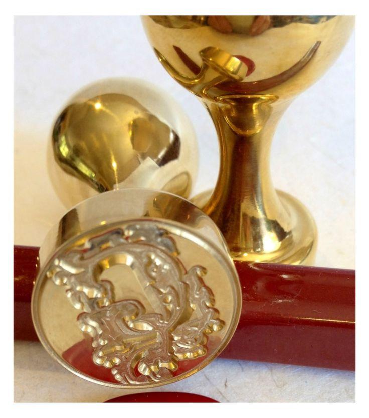 cinderellthemed wedding scroll invitations%0A Custom Wax Seals