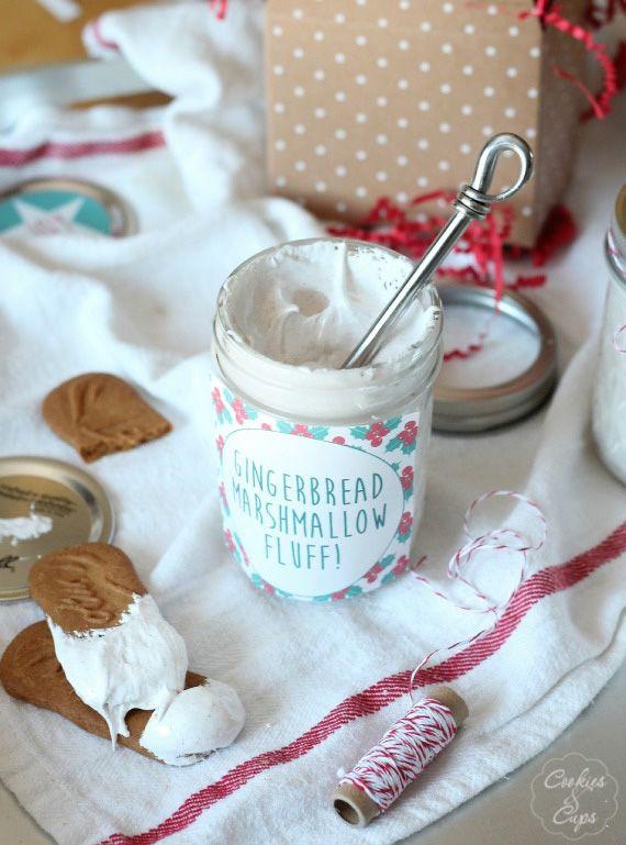 Homemade Gingerbread Marshmallow Fluff