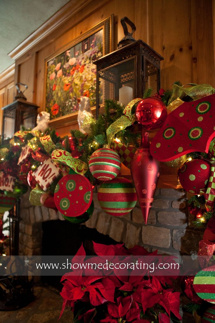 Christmas Mantle- Inspiration