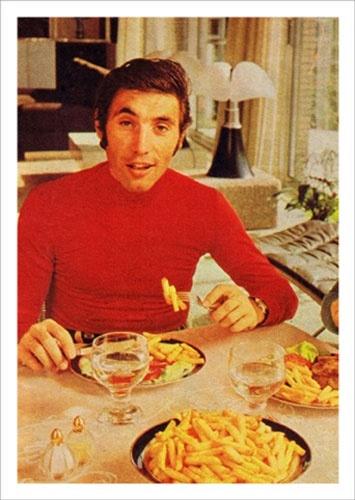 eddy  eet graag frietjes