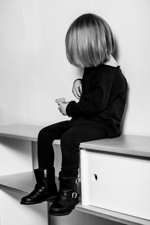 all black #kids #fashion