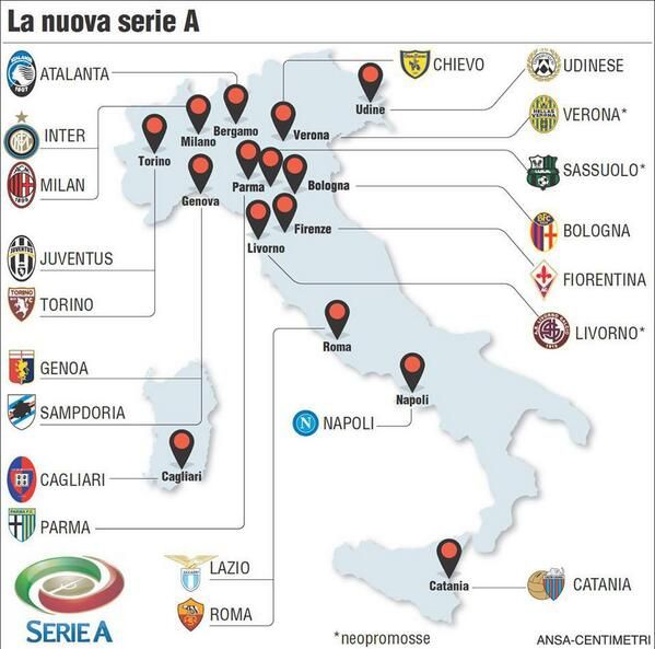 Best Juventus Images On Pinterest Claudio Marchisio Soccer - Juventus italy map
