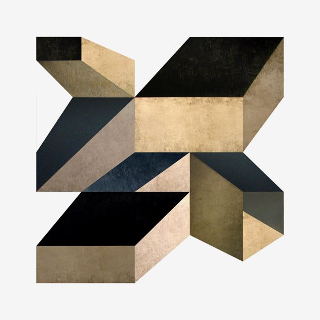 Geometric Artworks by Dusa Jesih