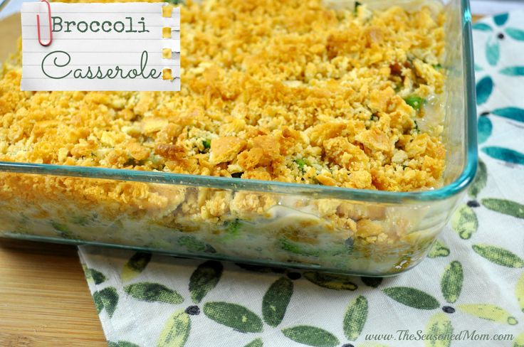 Broccoli Casserole with Buttery Crumb Topping on MyRecipeMagic.com -- a perfect and easy holiday side dish!