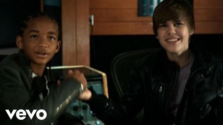 Justin Bieber - Never Say Never ft. Jaden Smith    Watch this and see what you think.