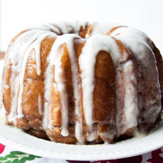 ... cinnamon and sugar, baked and drizzled with a cream cheese glaze. More