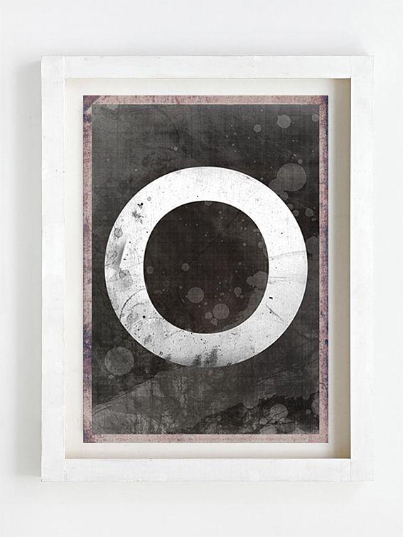 Print by Sophie Klerk, 'O'