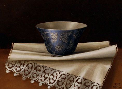 Trudie Mooney: Chinese Bowl and White Lace