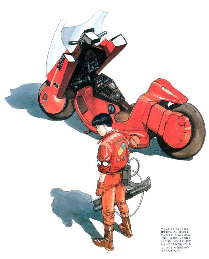 Kaneda from Akira by Katsuhiro Otomo ✤ || CHARACTER DESIGN REFERENCES…