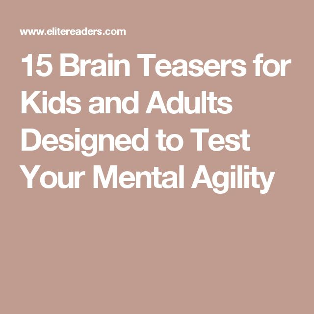 Brain teasers rebus puzzles and brain teasers with answers