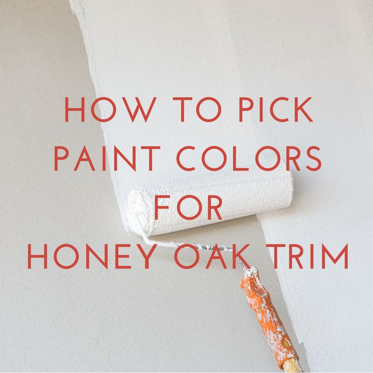 Selecting the perfect paint color to coordinate with honey oak trim or cabinets can be daunting. I've compiled my best tips for picking the right color.
