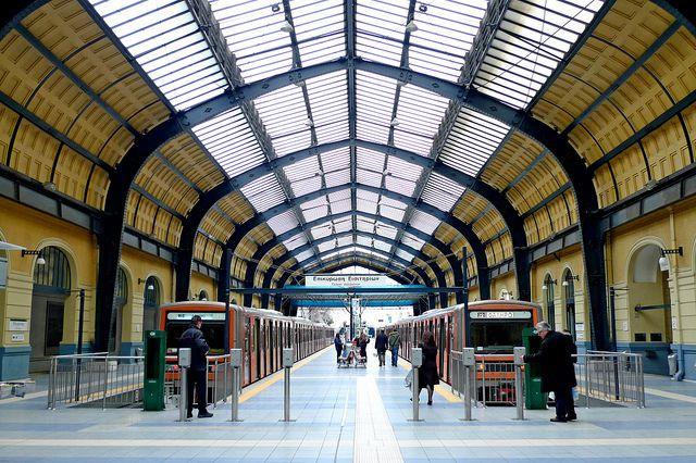 VISIT GREECE| Piraeus #Metro Station