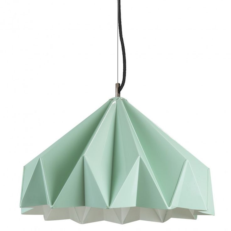 This medium Origami light is made from galvanized iron. Intended to give the impressive of folded coloured paper, this shade is white inside and finished in a gloss coloured outer finish. Its cord is 1.5m long and can be shortened if needed by your electrician on installation. As seen on Channel 9's hit TV Show, The Block.