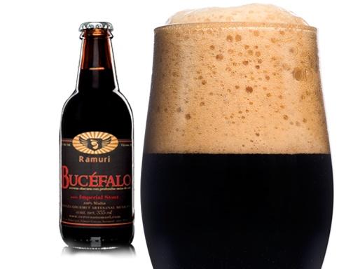 Cervecería Rámuri Imperial Stout Cerveza Artesanal Mexicana Cerveza Obscura Estilo Imperial Stout 100% Malta 9.3% Alc. Vol.