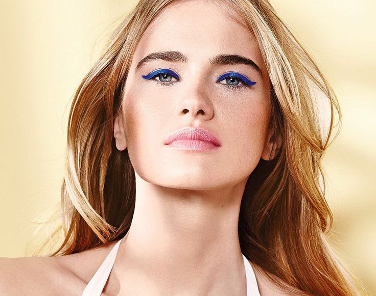 Летний макияж глаз. Актуальный дует синего и розового