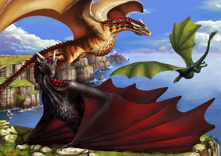 Картинки драконы игры