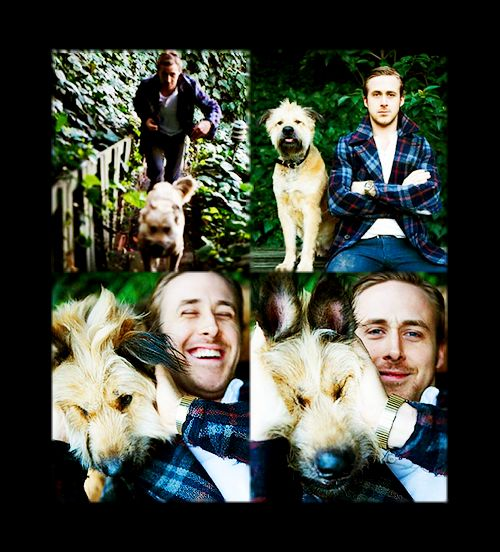 mmm AND you're a dog lover!: Ryan Gosling, Animal Lovers, Polar Bears, Best Friends, This Men, Puppys, Dogs Lovers, Celebs Wanim, Beautiful People
