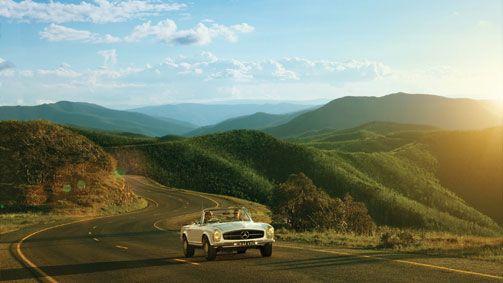Great Alpine Road, High Country, Victoria, Australia
