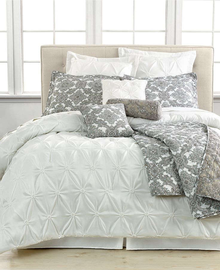 Jasmine White 10 Piece California King Comforter Set Bed In A Bag Bed Bath Macy 39 S