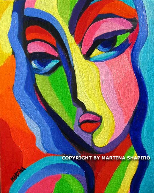 matisse paintings of women | Art Deco Woman original fauve expressionist oil on canvas painting by ...