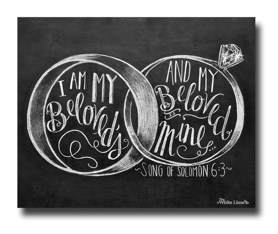 Wedding Ring Bible Quotes: 84 Best Song Of Solomon/Song Of Songs--Bible Journaling By
