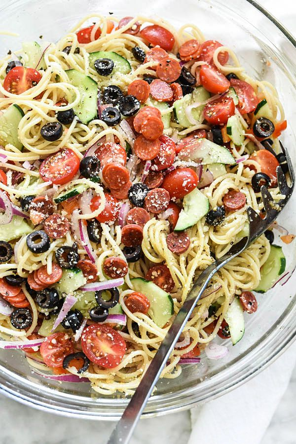 298 best cold pasta salads images on pinterest cold for Cold pasta salad ideas
