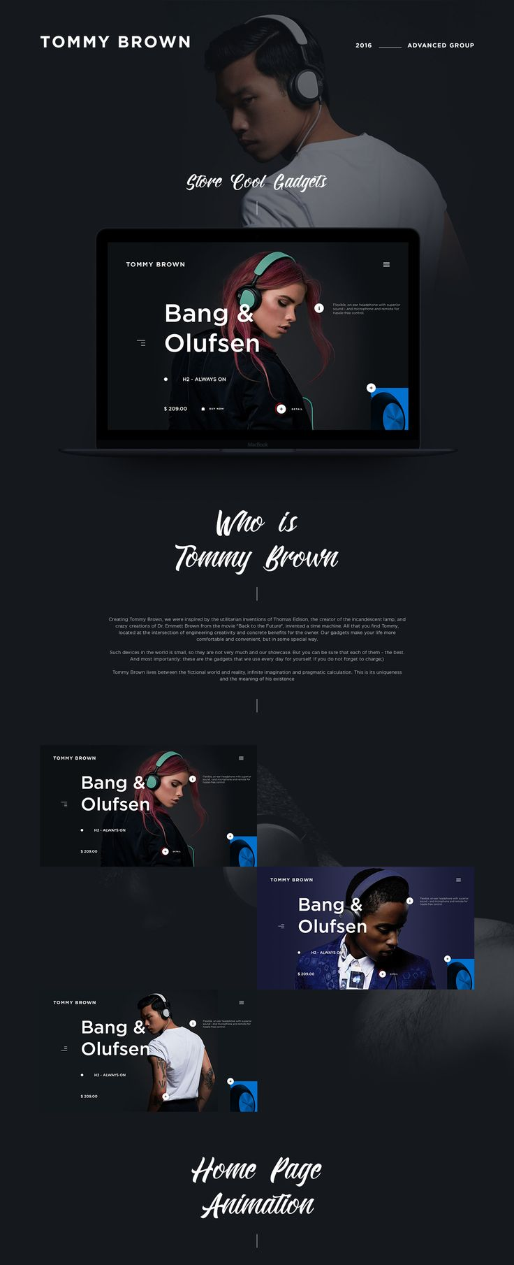 Tommy Brown 2016 on Behance