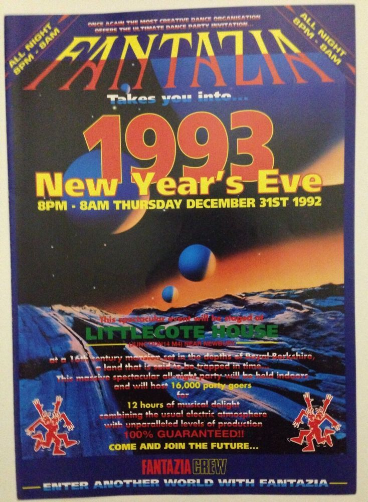 13 Best Back In The Day Rave Generation Flyers Images On