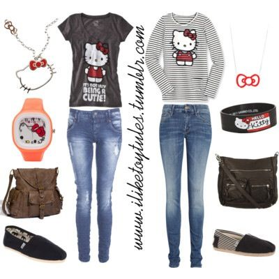 Hello Kitty outfits idea