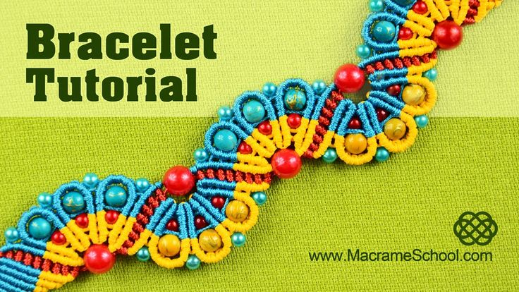 Amazing Peacock Tail - Macramé Bracelet Tutorial #Macramé #Peacock #Bracelet #Tutorial