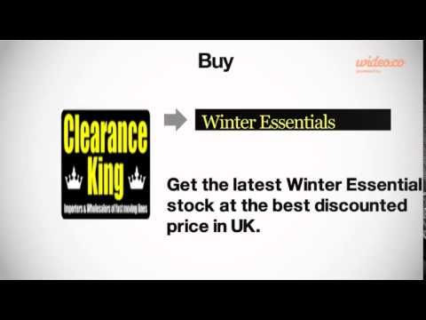 Check out our new video on #YouTube #winter #winteressentials #wholesale #suppliers