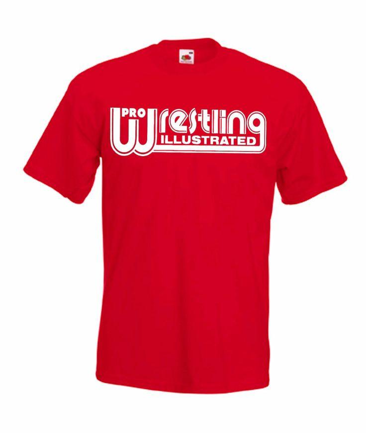 Pro Wrestling Illustrated Classic Wrestling T Shirt. I ...