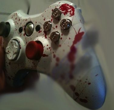 scary halloween decorations and unique gift ideas real murder controller xbox 360 controller - Halloween Xbox 360