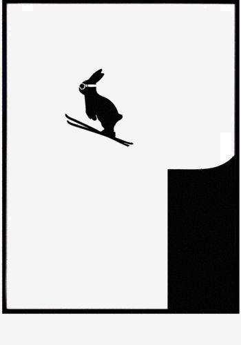 Ski+Jumping+Rabbit+print