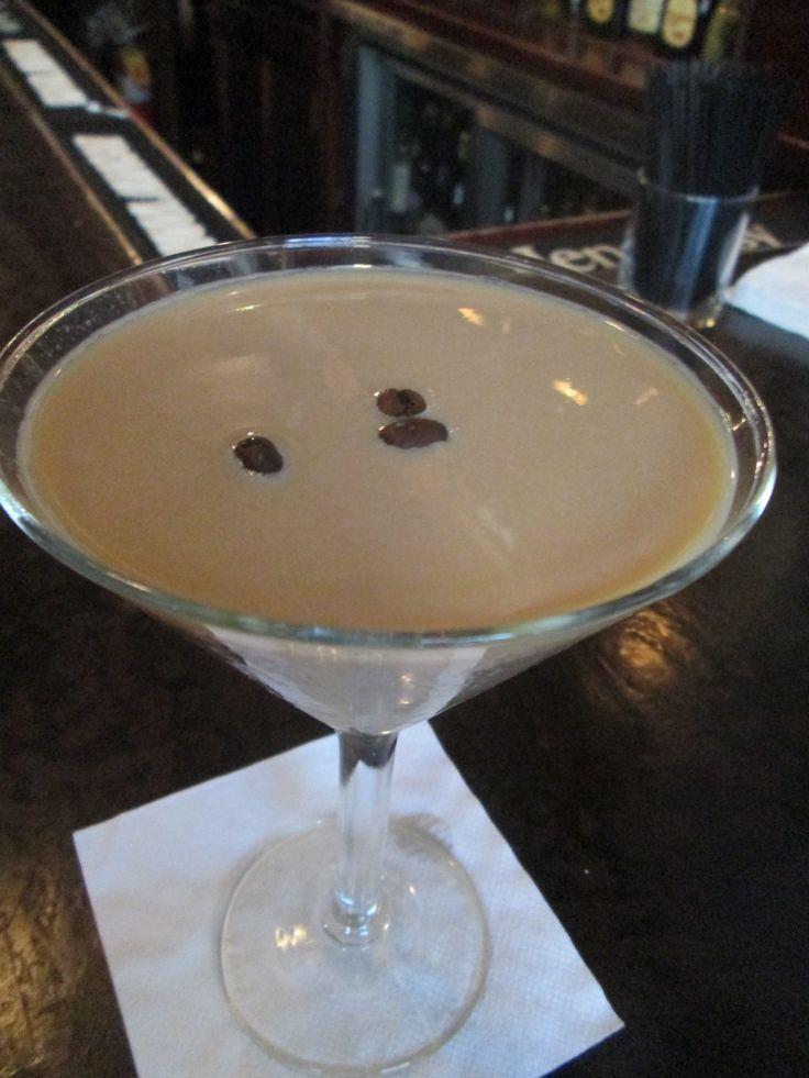 The new #Ciroc flavor - Amaretto makes a perfect Espresso Martini #liquiddessert
