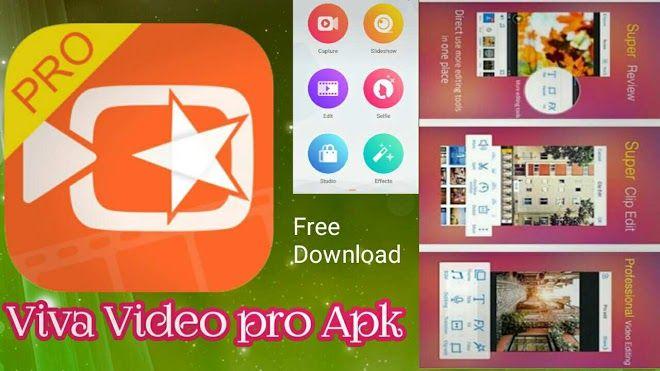 VivaVideo PRO HD video Editor APK Full Premium Cracked for