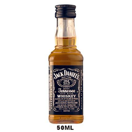 Liquorama - 50ml Mini Jack Daniels Old No. 7 Tennessee Sour Mash Whiskey, $2.99 (http://www.liquorama.net/50ml-mini-jack-daniels-old-no7-tennessee-sour-mash-whiskey.html)