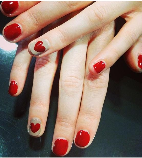 Nail art - Be My Valentine!