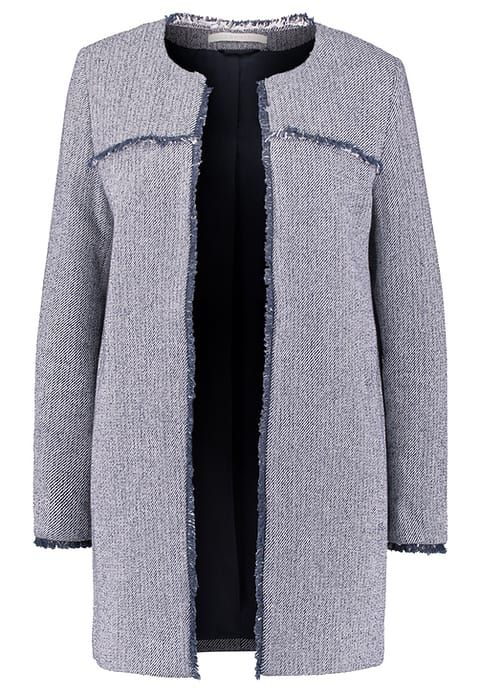 Esprit Krótki płaszcz - dark blue za 509 zł (23.03.17) zamów bezpłatnie na Zalando.pl.