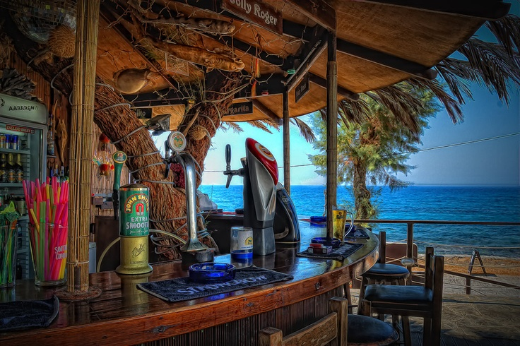 Jolly Roger Bar, Sissi, Greece. Check!