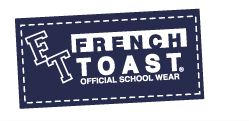 Every style and size of school uniforms from FRENCH TOAST.