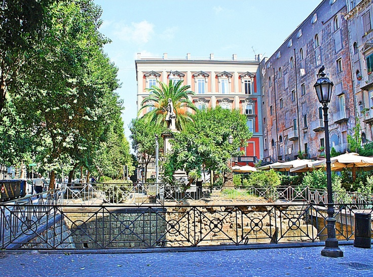 Piazza Bellini naples italy
