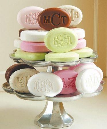 Monogrammed Soap Bar: Guest Bathroom, Personalized Gifts, Gifts Ideas, Soaps Ideas, Monograms Soaps, Bathroom Ideas, Great Gifts, Hostess Gifts, Engraving Soaps