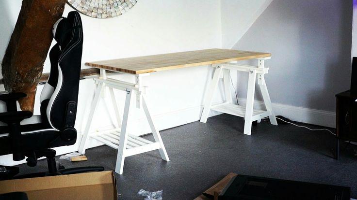 IKEA KARLBY Kitchen Countertop (as desk)