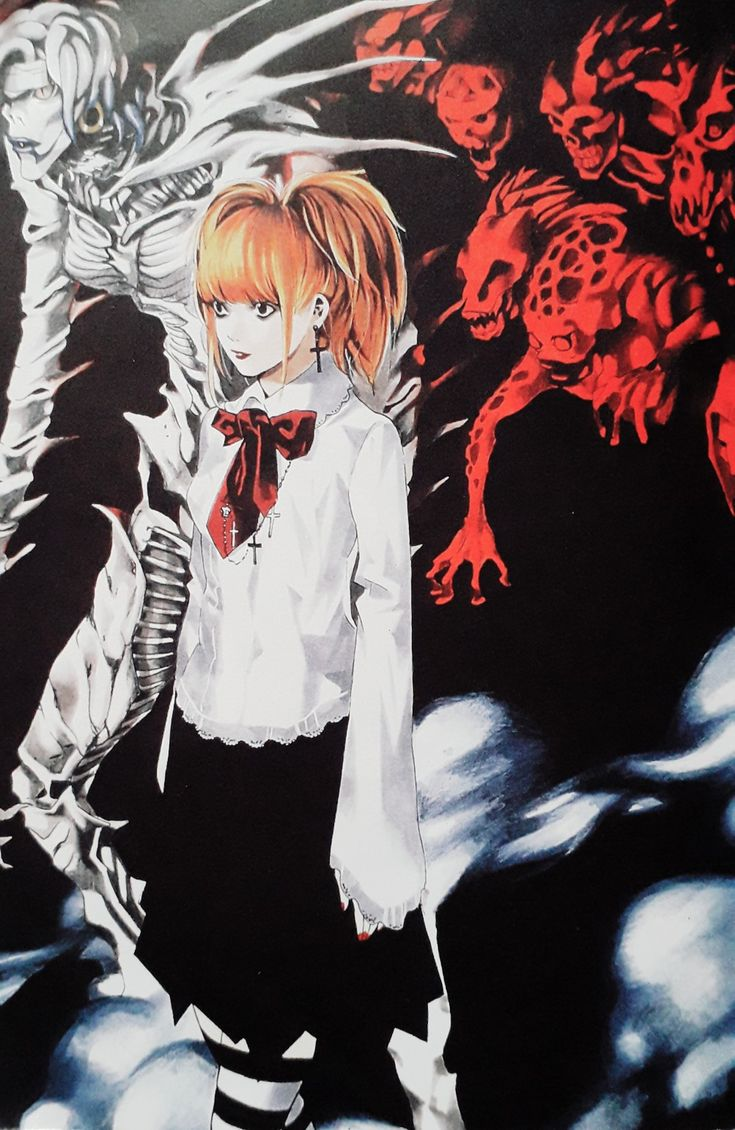 Pin de Anime GameArt en Death Note en 2020 Amane misa